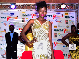 Tryphena Natukunda, 18, won her title in a field of more than 150 contestants.
