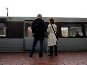 Colin Dale and his wife, Lori, still go to the train platform where he was the victim of a crime that changed the course of his life.