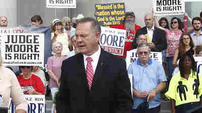 Ala. Chief Justice Roy Moore Suspended For Rest Of Term Over Gay Marriage Stance