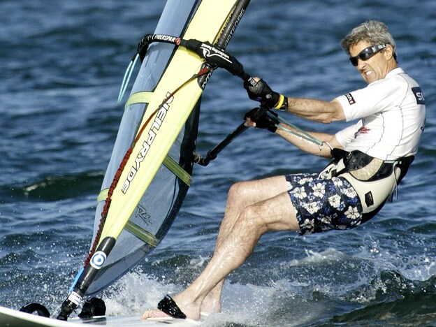 Windsurfing isn't the kind of athletic activity that resonates with many Americans, as John Kerry learned.