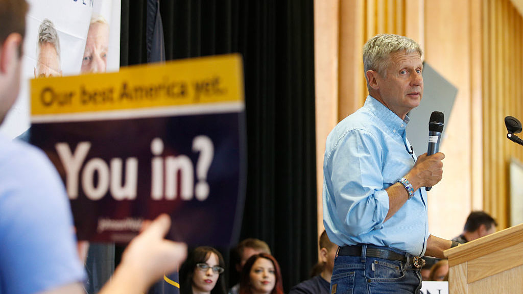 Gary Johnson Is Probably The Healthiest Candidate For President