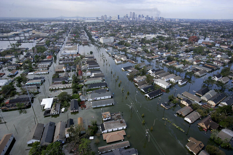 Hurricane Katrina New Orleans Map.New Maps Label Much Of New Orleans Out Of Flood Hazard Area Npr