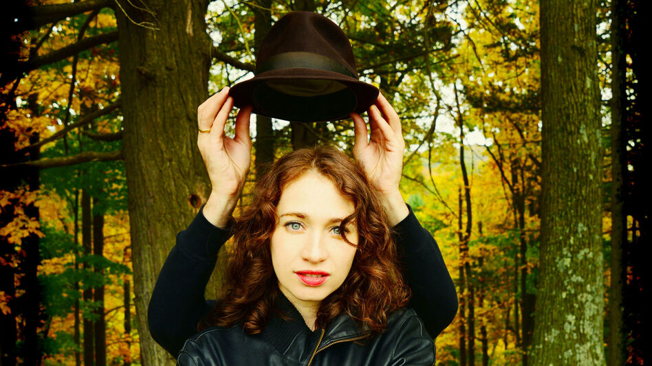"""It becomes a gift ... to get to see things from a different perspective,"" Regina Spektor says. Her new album is called Remember Us To Life. (Courtesy of the artist)"