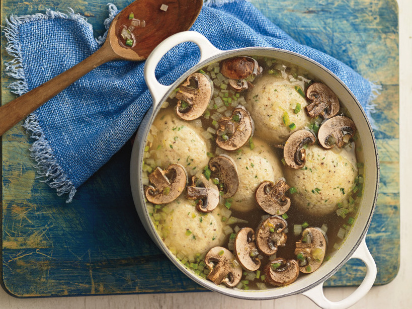 Image for For Rosh Hashana, A Matzo Ball Soup By Way Of Mexico