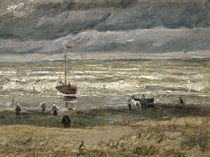 Van Gogh's Seascape at Scheveningen, 1882, was stolen from the Van Gogh Museum in Amsterdam in 2002.