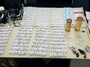 After a drug bust earlier this month, police in Hartford, Conn., became ill because of the heroin and fentanyl that was seized.