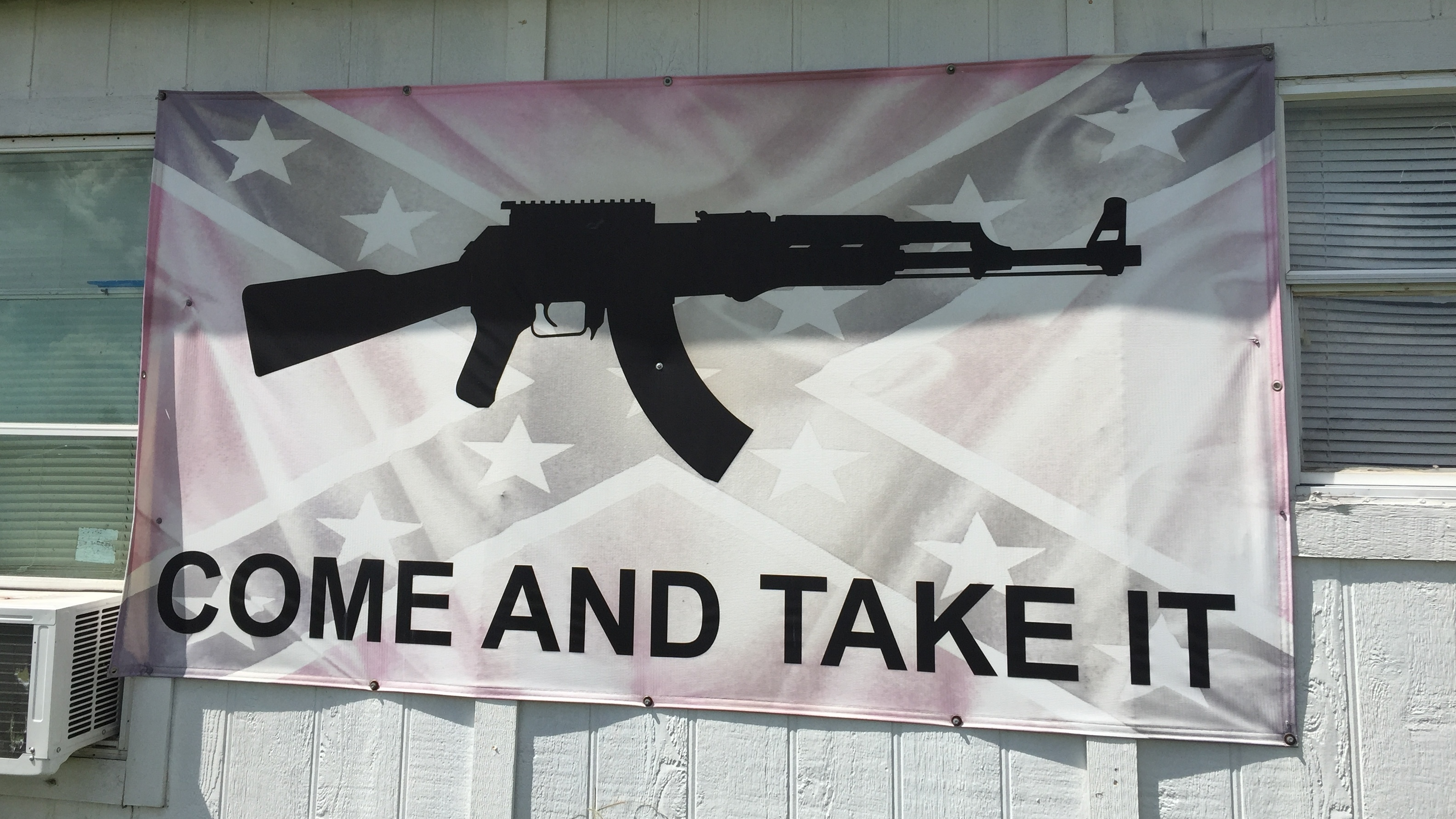 Come And Take It': A Texan Symbol Of Defiance For Sale : NPR