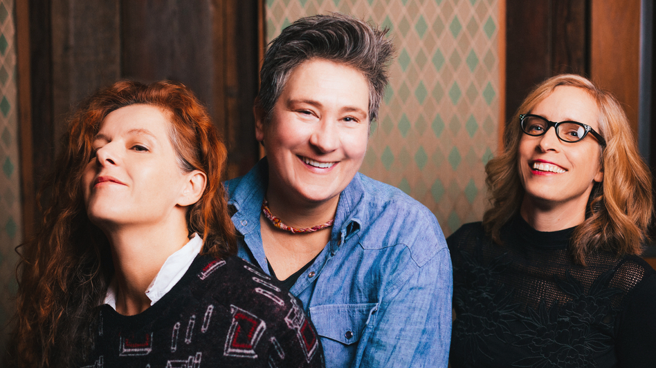 case/lang/veirs' self-titled album is out now. (Courtesy of the artist)
