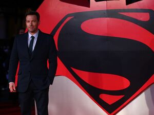 Ben Affleck at the European premiere of Batman v Superman: Dawn of Justice.