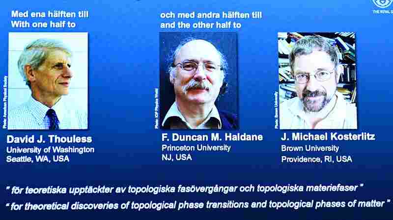 3 Physicists Win Nobel Prize For Theoretical Research Into Phases Of Matter