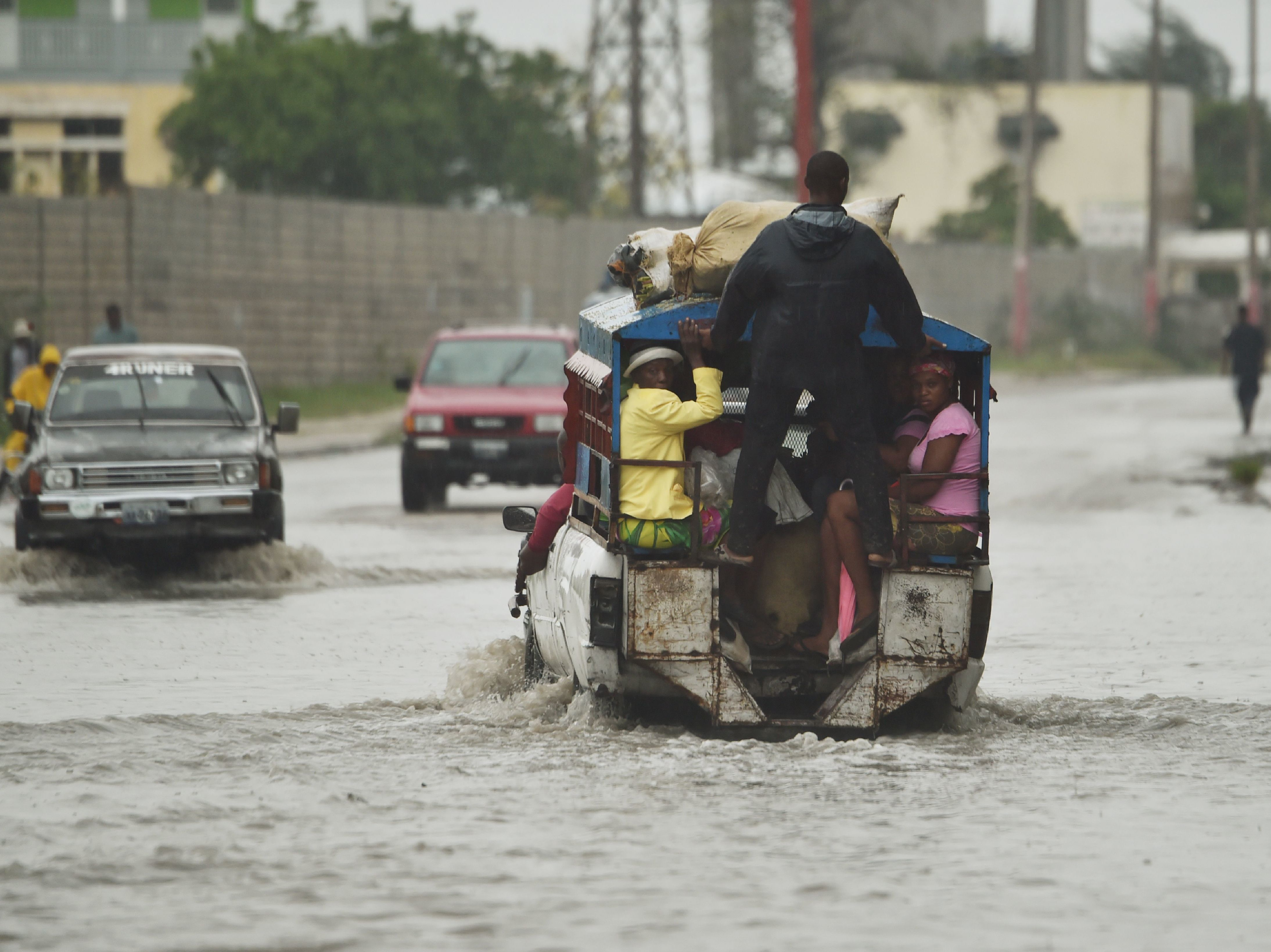 'The Situation ... Is Truly Catastrophic'; Hurricane Matthew Slams Into Haiti