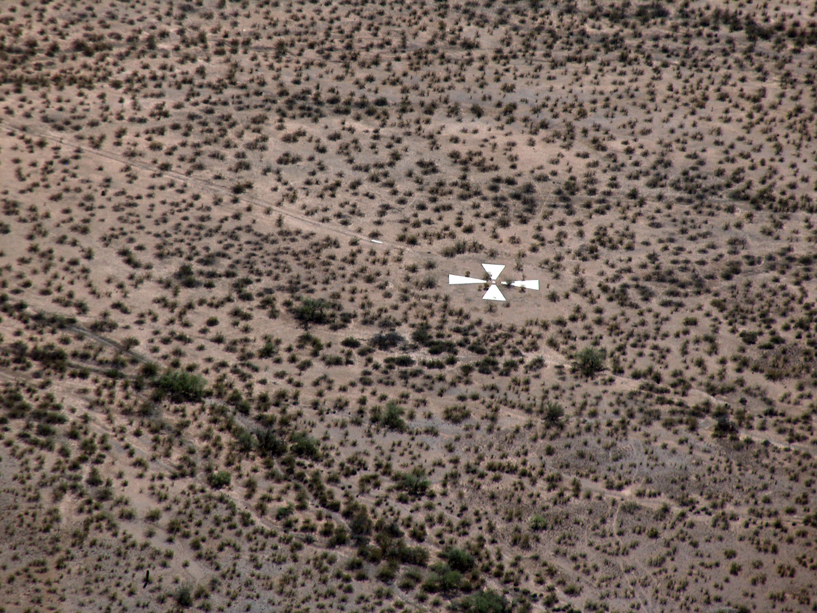 Decades-Old Mystery Put To Rest: Why Are There X's In The Desert?