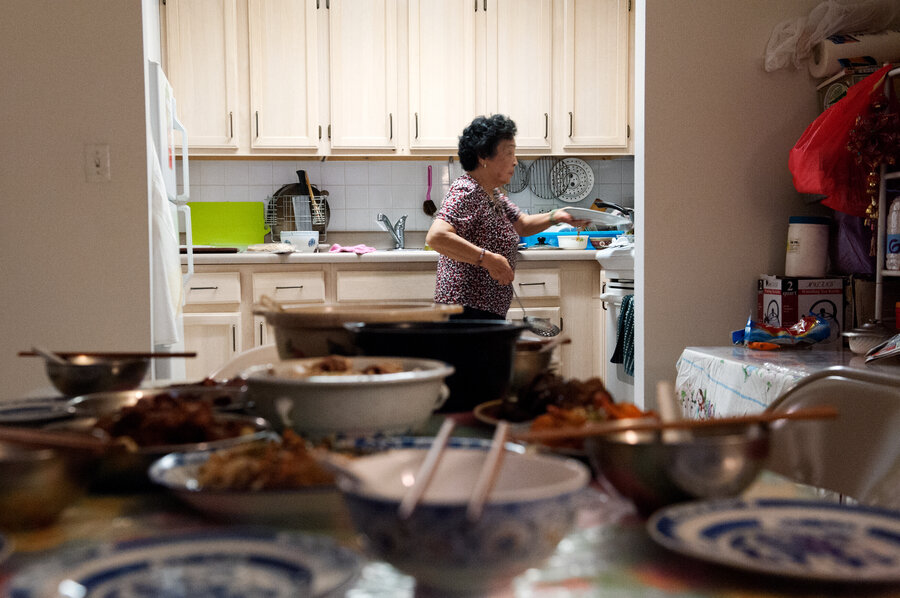 Think 'Chinese Food' Means Lo Mein? Home Cooking Brings More To