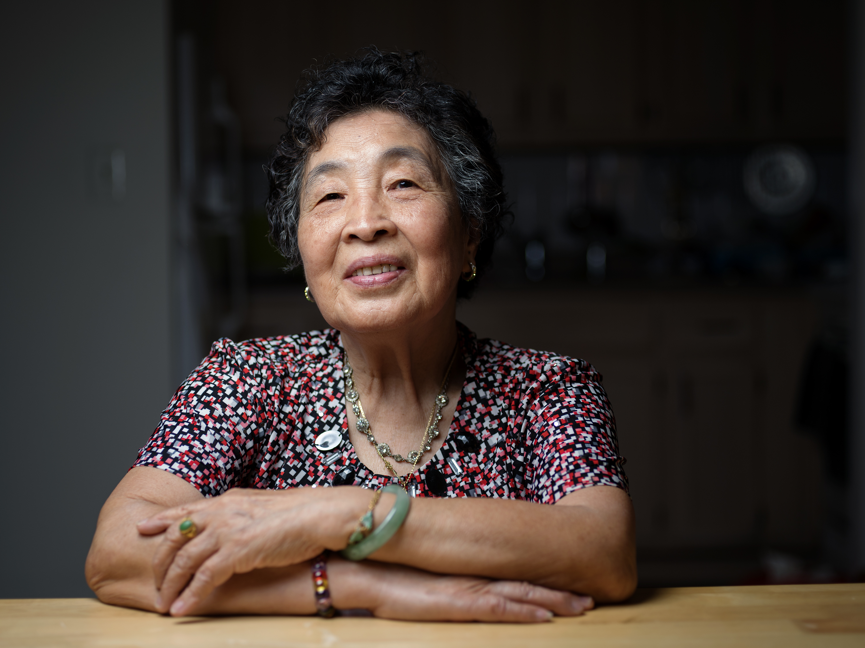 'Sometimes there are too many ingredients in a kitchen, and I don't like to use all of them,' says Biying Ni, who was born in Fuzhou, the capital of Fujian Province, China. 'Fuzhounese cuisine is plain and simple.' Bryan Thomas for NPR