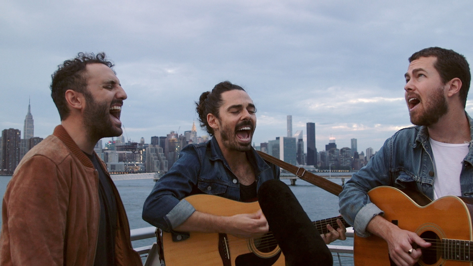 Local Natives plays a Field Recording at WNYC Transmitter Park. (NPR)