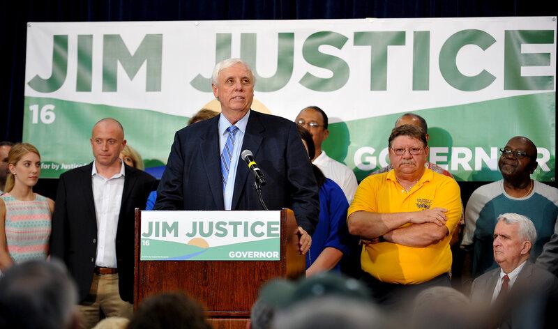 Billionaire West Virginia Gubernatorial Candidate Jim