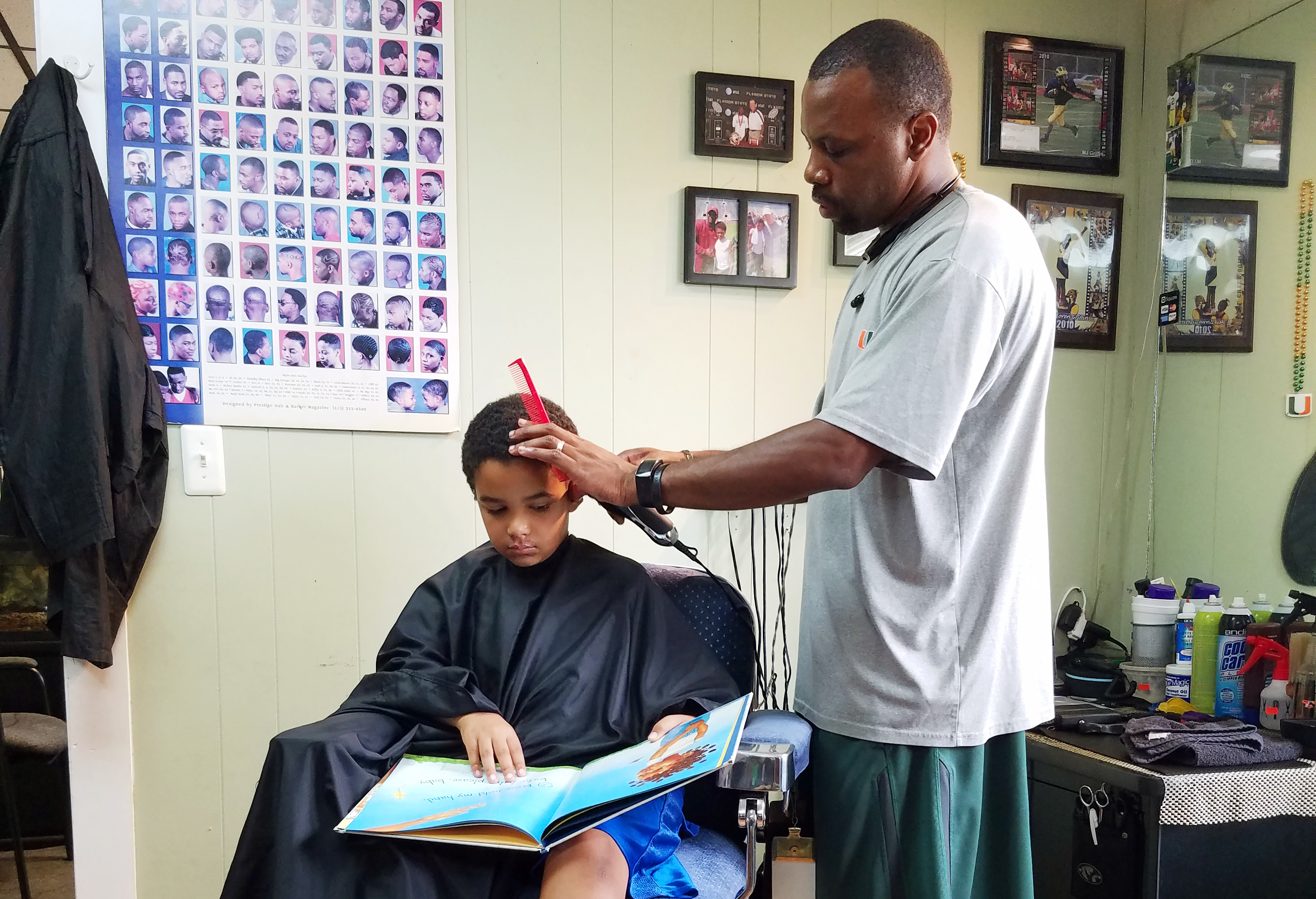 Choose A Book And Read To Your Barber, He'll Take A Little Money Off The Top