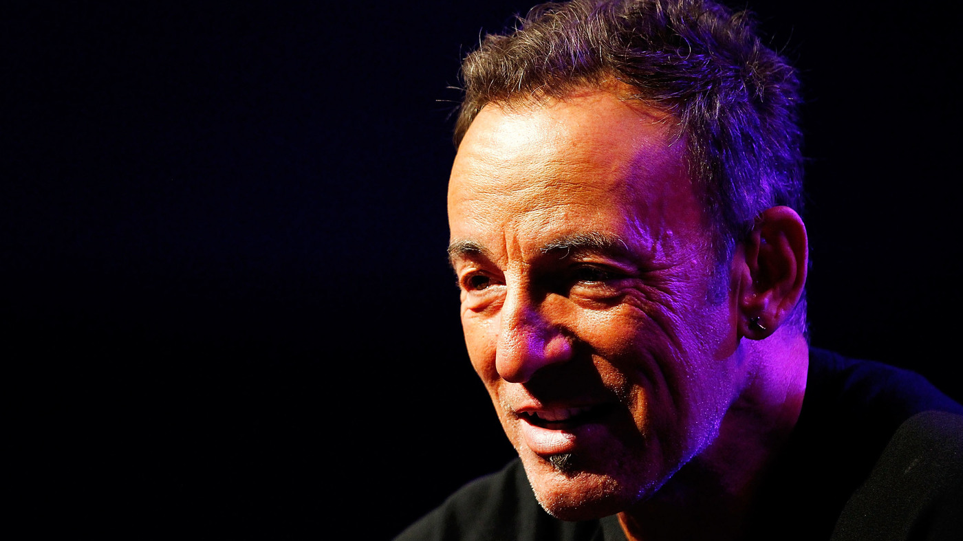 Bruce Springsteen: On Jersey, Masculinity And Wishing To ... Bruce Springsteen