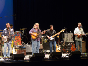 Leftover Salmon performs on Mountain Stage.