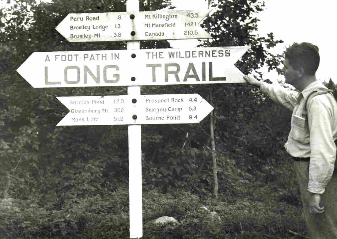 Earl Shaffer, a World War II veteran, is believed to be the first to complete a non-stop trek through the Appalachian Trail in 1948.