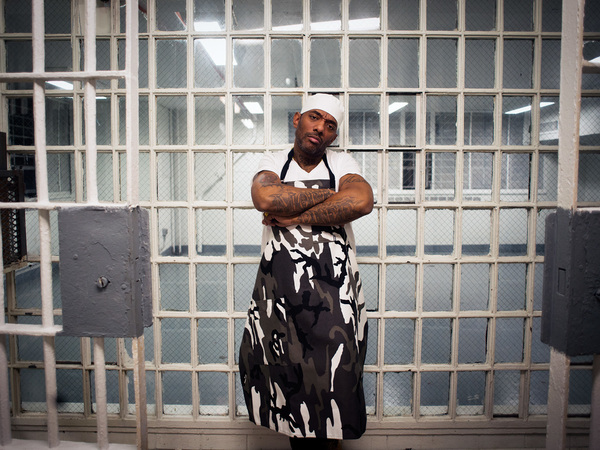 """After he was sentenced for illegally possessing a firearm, Albert """"Prodigy"""" Johnson, of the hip-hop duo Mobb Deep, discovered how hard it was to eat healthy behind bars. His new cookbook tells the story."""