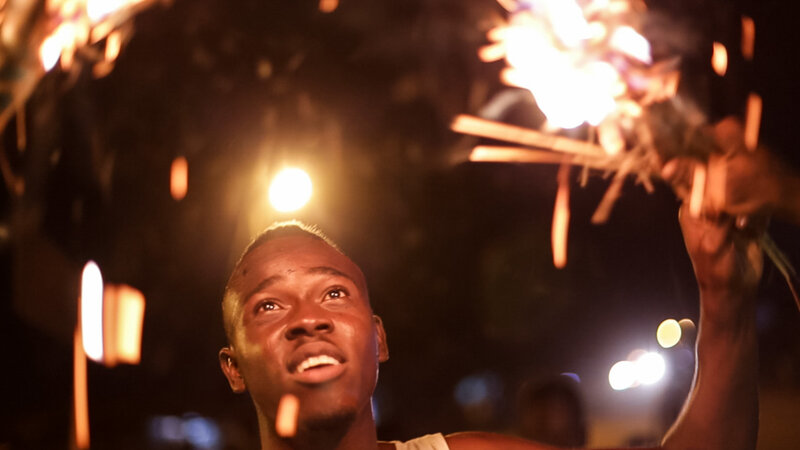 Peace Corps Volunteer Finds Ghana's Fire Festival To Be Intense