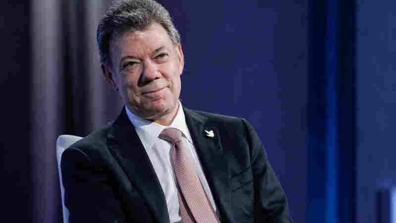 Colombian President Juan Manuel Santos Awarded Nobel Peace Prize