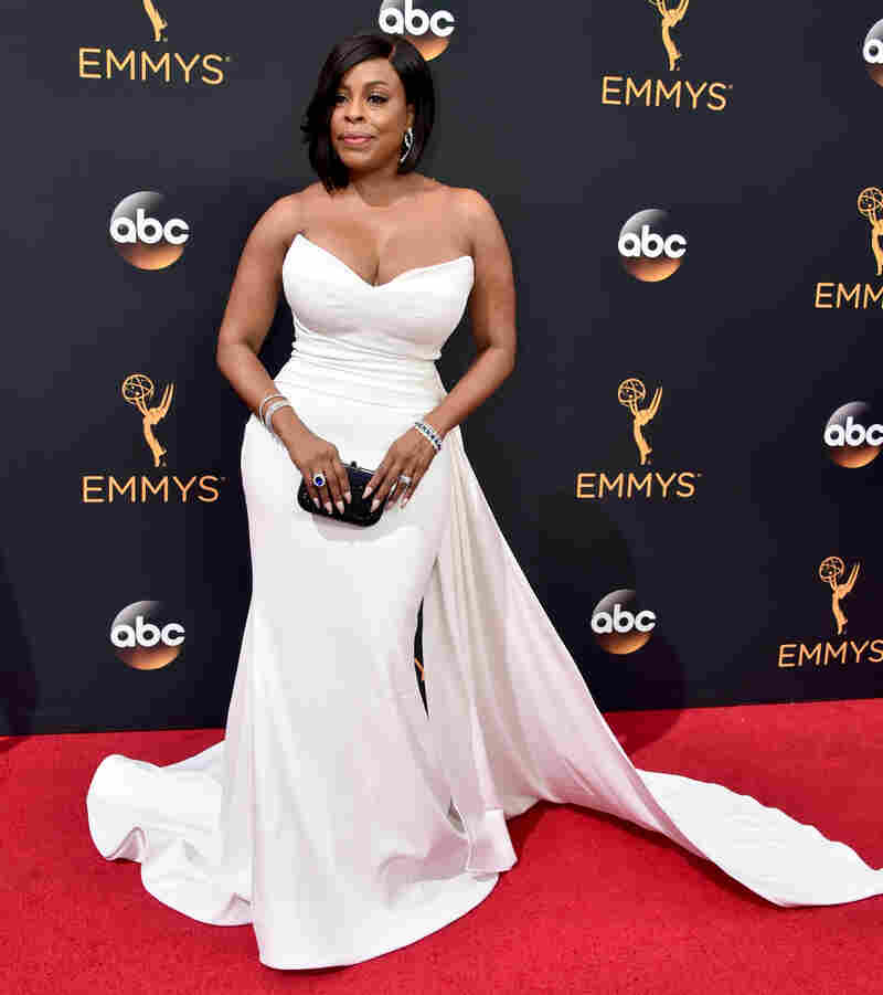 Siriano dressed nine actresses for this year's Emmys, including Niecy Nash.