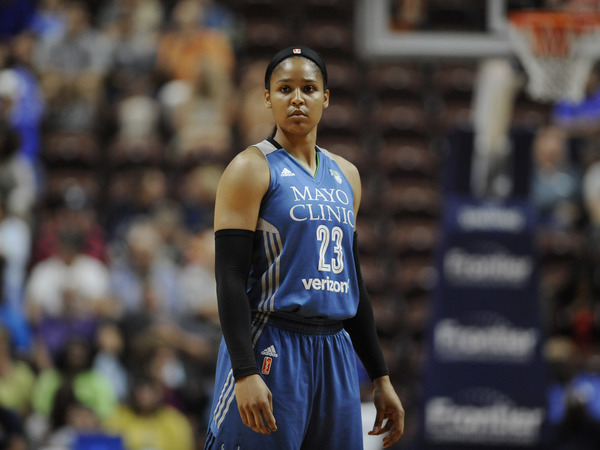 Minnesota Lynx Maya Moore will be one to watch as her team vies for a fourth WNBA basketball title in game one against Los Angeles Sparks on Sunday.