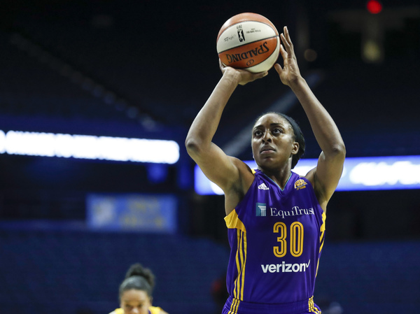 Los Angeles Sparks forward Nneka Ogwumike.