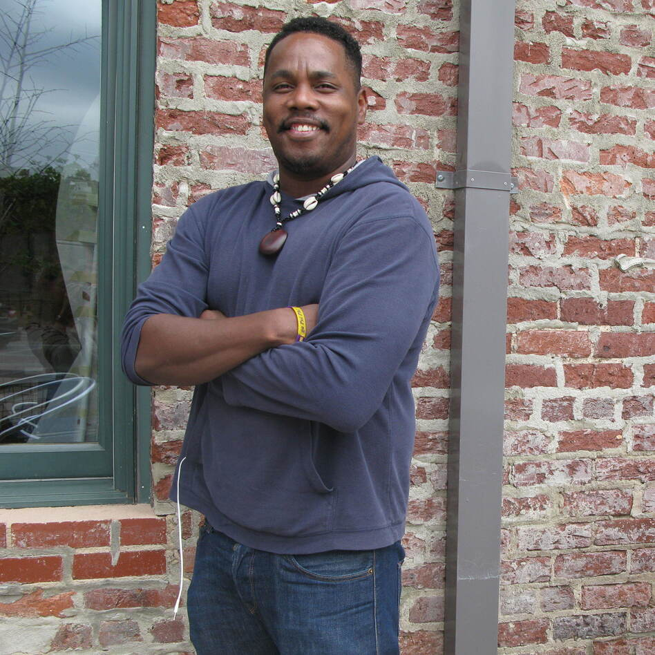 Ty Turner Bond, who said he's voting for Donald Trump. He says Trump's economic proposals appeal to him. (Natalie Winston/NPR)