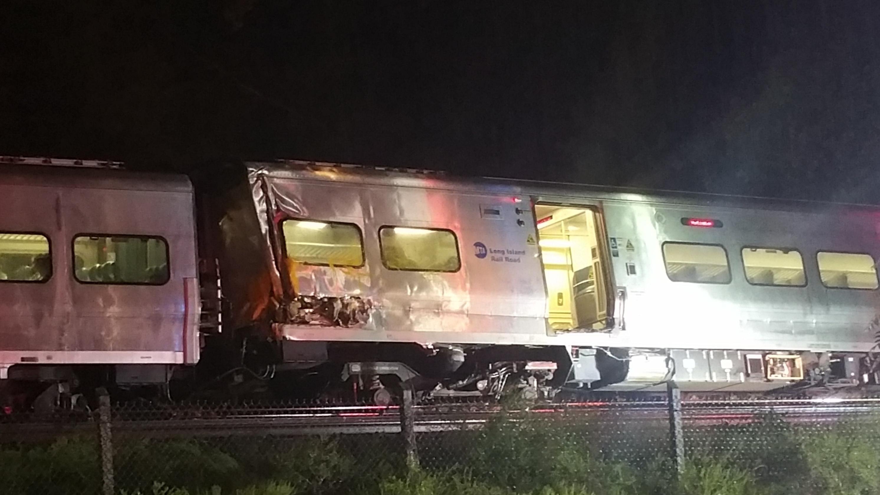 Governor: Full service back after weekend train derailment