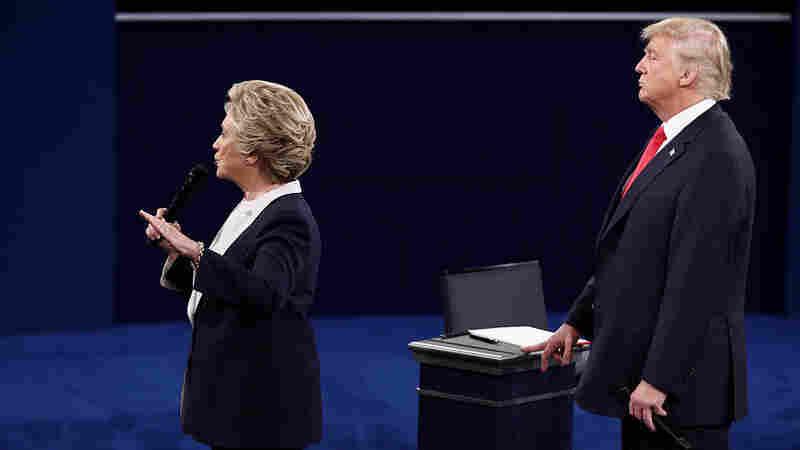 Fireworks In St. Louis: Trump, Clinton Trade Barbs In Heated Debate
