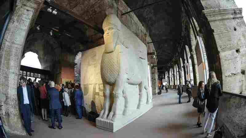 Replicas Of Artifacts Destroyed By ISIS 'Rising From Destruction' In Rome