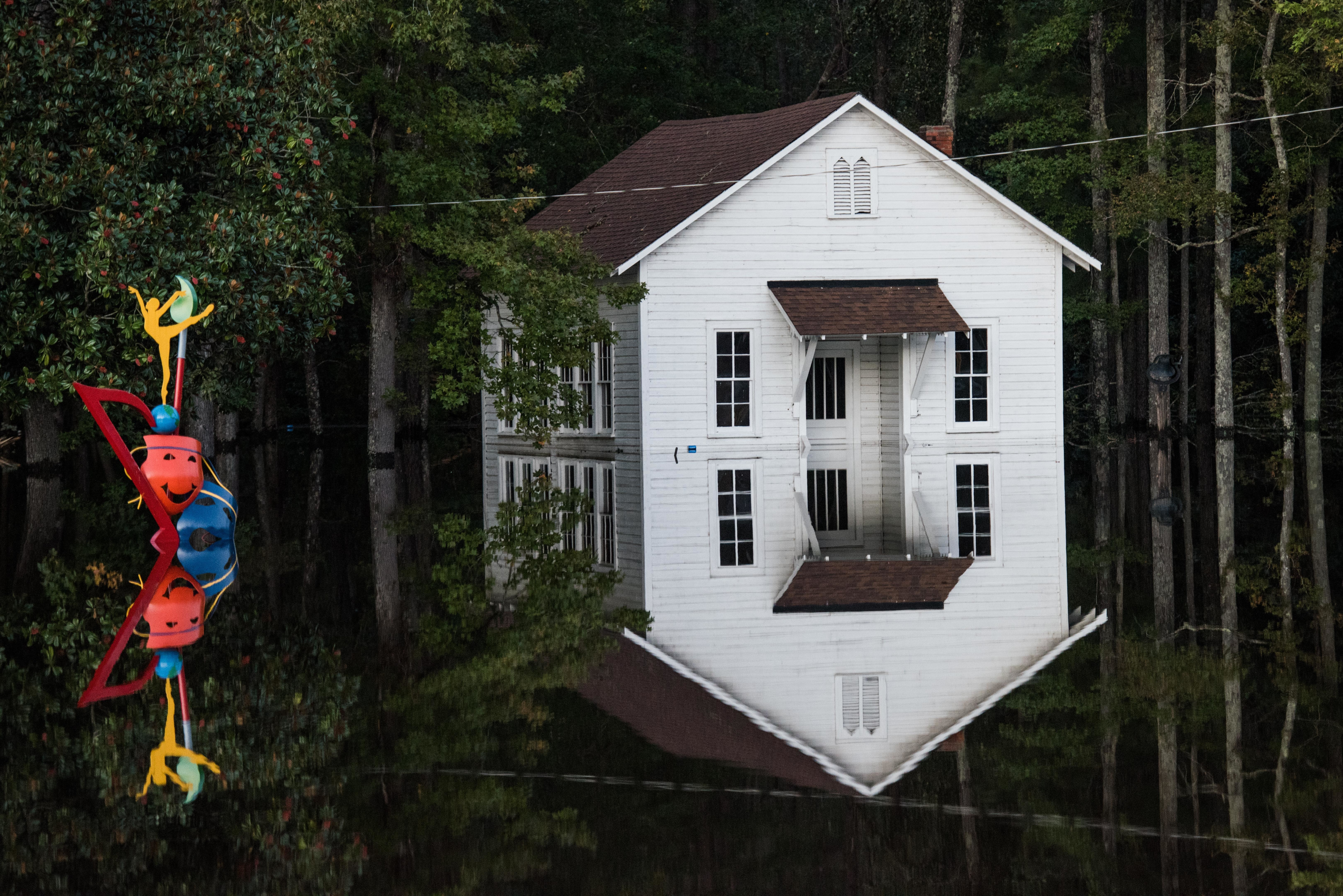 After Hurricane Matthew, Floodwaters Rise To Record Levels In North Carolina