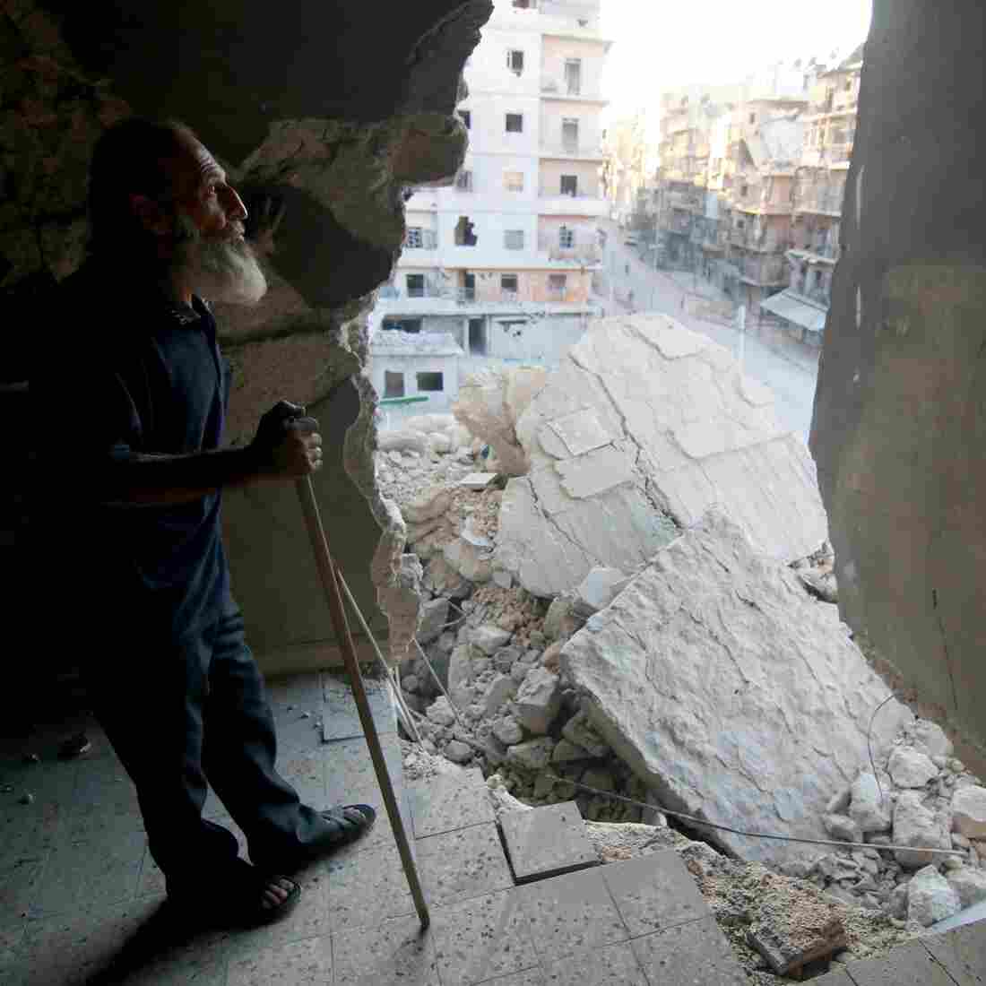 VIDEO: Aerial Footage Shows Scale Of Destruction In Aleppo