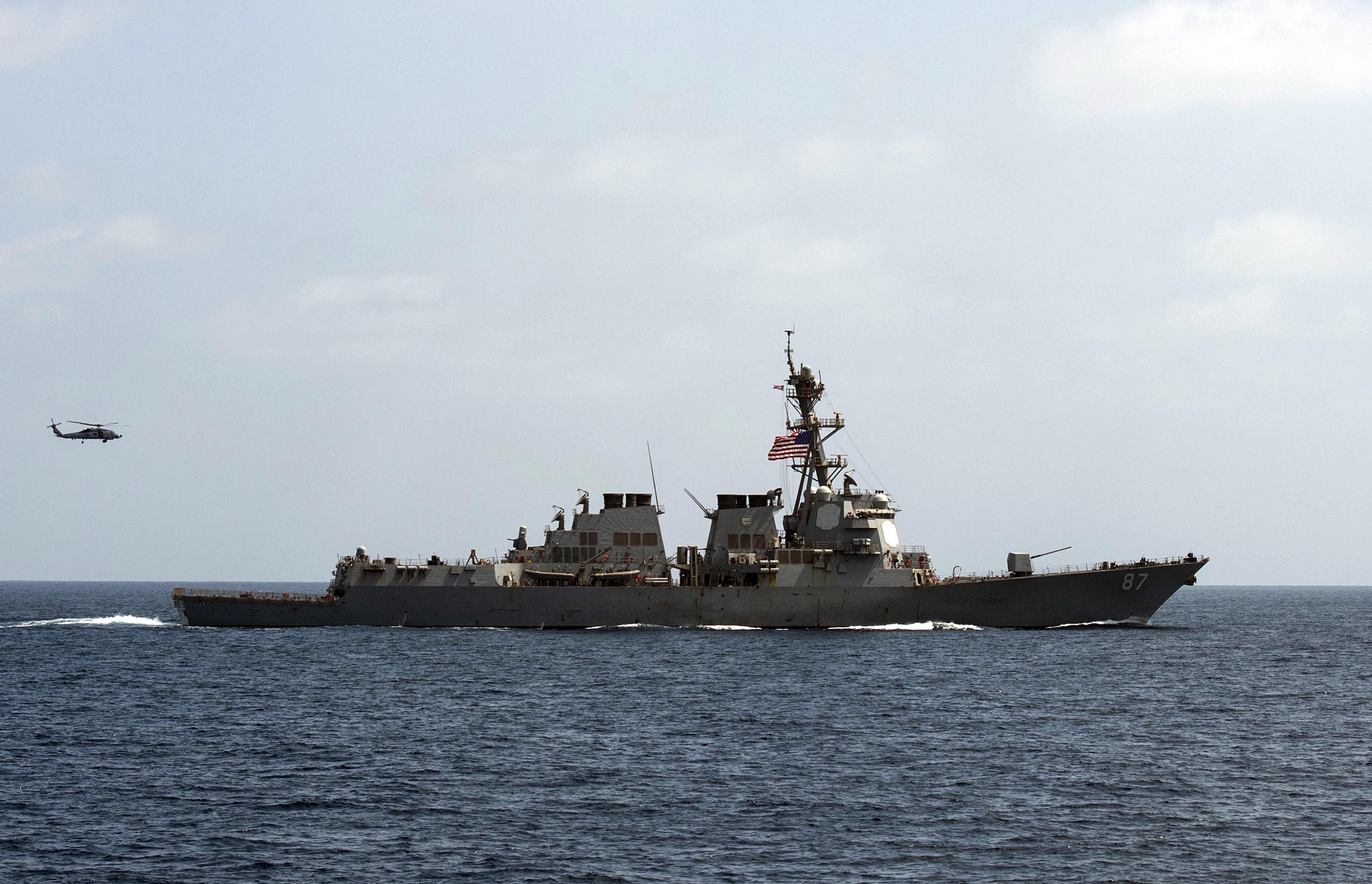 U.S. Official: Navy Fires At Radar Sites In Yemen After Navy Destroyer Was Targeted