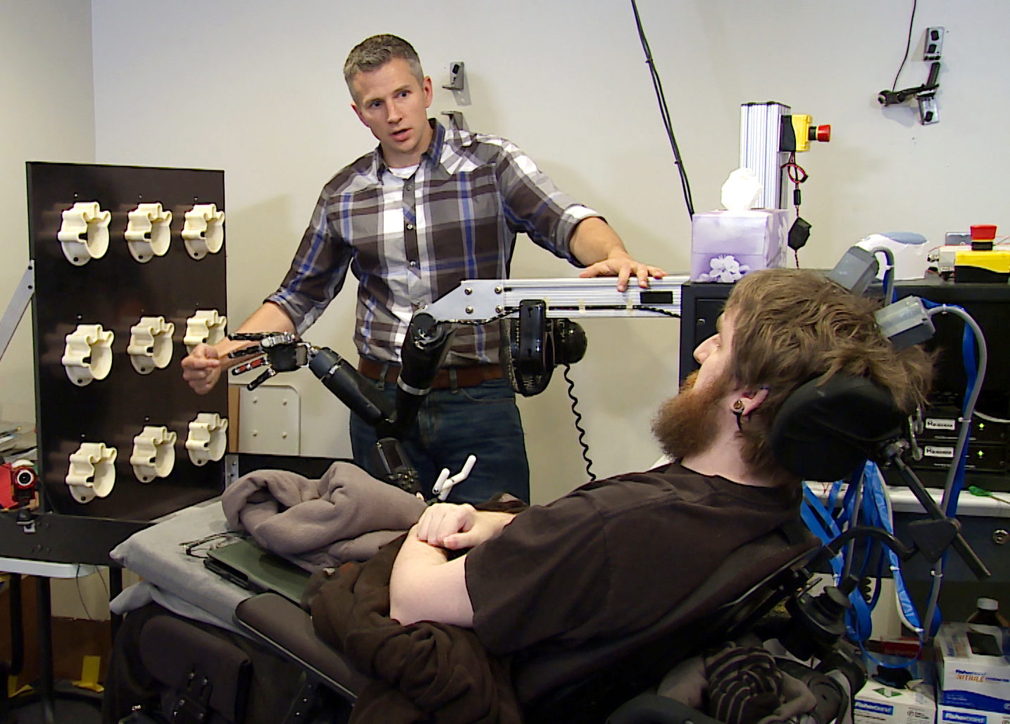 Brain Implant Restores Sense Of Touch To Paralyzed Man