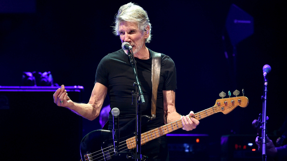 Roger Waters performs onstage during Desert Trip at the Empire Polo Field on October 9, 2016 in Indio, Calif. (Getty Images)
