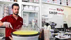 In Jerusalem And West Bank, Nutella Cafes Offer A Sweet Refuge