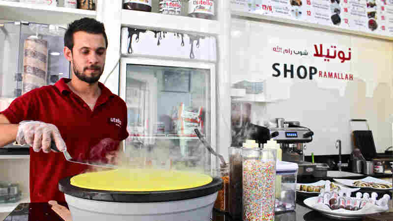In Jerusalem And West Bank, Nutella Cafes Offer A Sweet Refuge