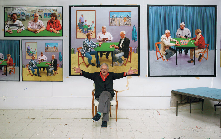 Favori Artist David Hockney Says The Drive To Create Pictures 'Is Deep  PE46