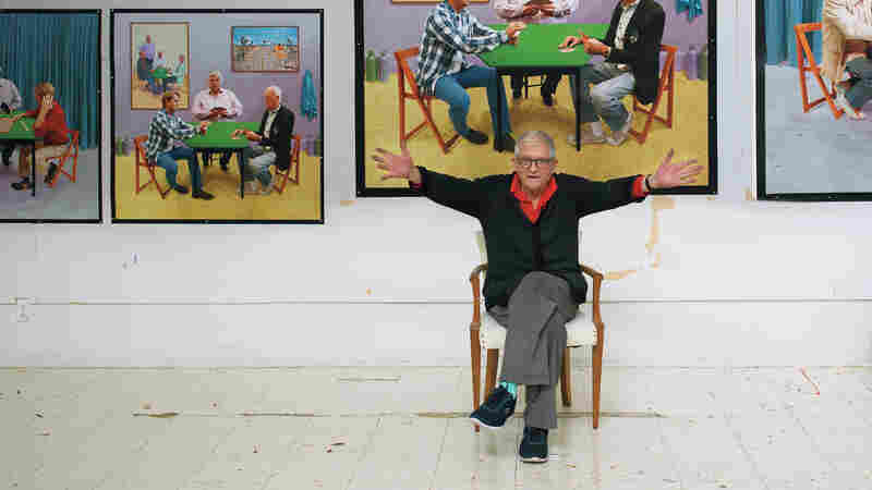 Artist David Hockney Says The Drive To Create Pictures 'Is Deep Within Us'