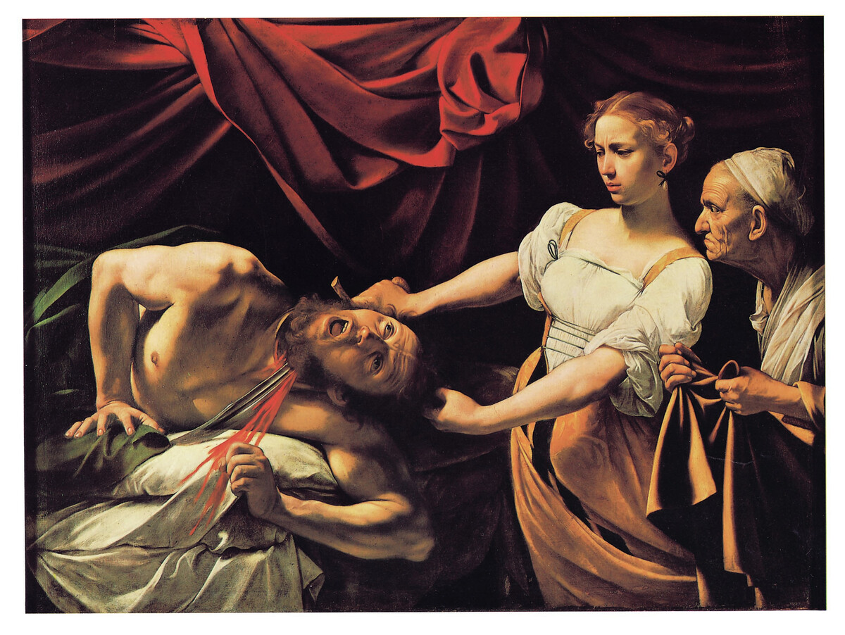 judith slaying holfernes Favourite paintings 14: artemisia gentileschi, allegory of painting, c 1638-9 artemisia gentileschi, judith slaying holofernes (1620-1), oil on canvas.