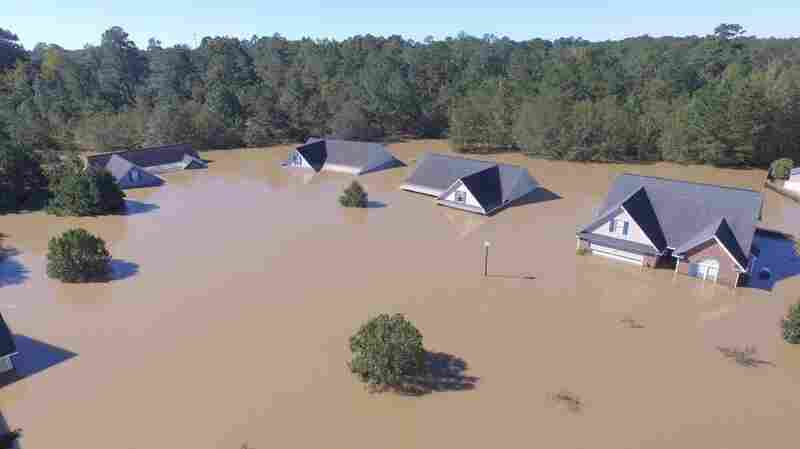 2 Strangers And A Drone Help Rescue Veteran Trapped By N.C. Flooding