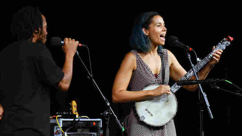 Rhiannon Giddens On Mountain Stage