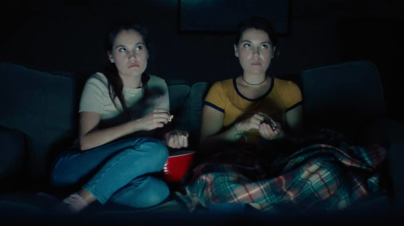 Lily & Madeleine Channel 'Stranger Things' In Creepy New Video