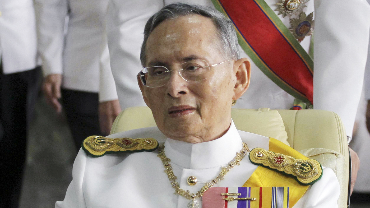 Thai King Bhumibol Adulyadej, World's Longestreigning Monarch,