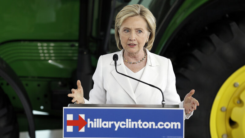 In Clinton Emails Released By WikiLeaks, A Video Defense She