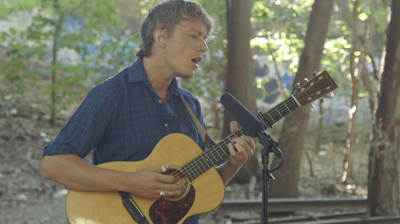 Watch Steve Gunn Play On An Abandoned Railroad Track